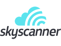 Skyscanner Logo Peak Evolution Media Travel Marketing